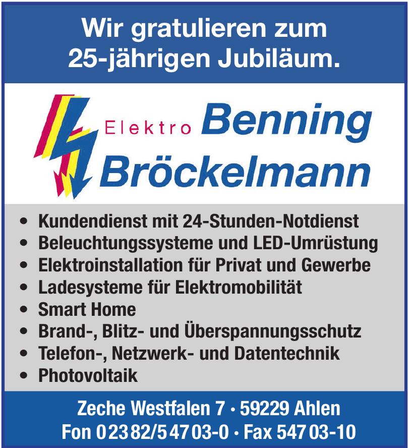 Elektro Benning Bröckelmann