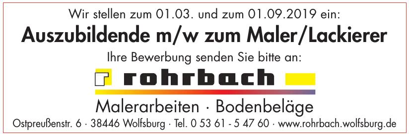 Frank Rohrbach Malermeister