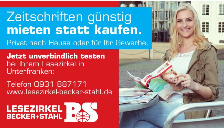 Lesezirkel Becker+Stahl