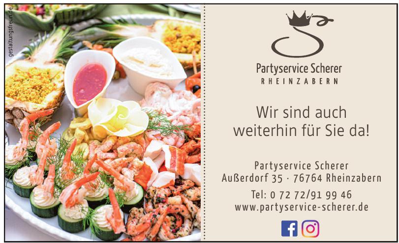 Partyservice Schere Rheinzabern