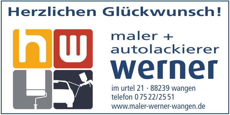 Werner Maler + Autolackierer