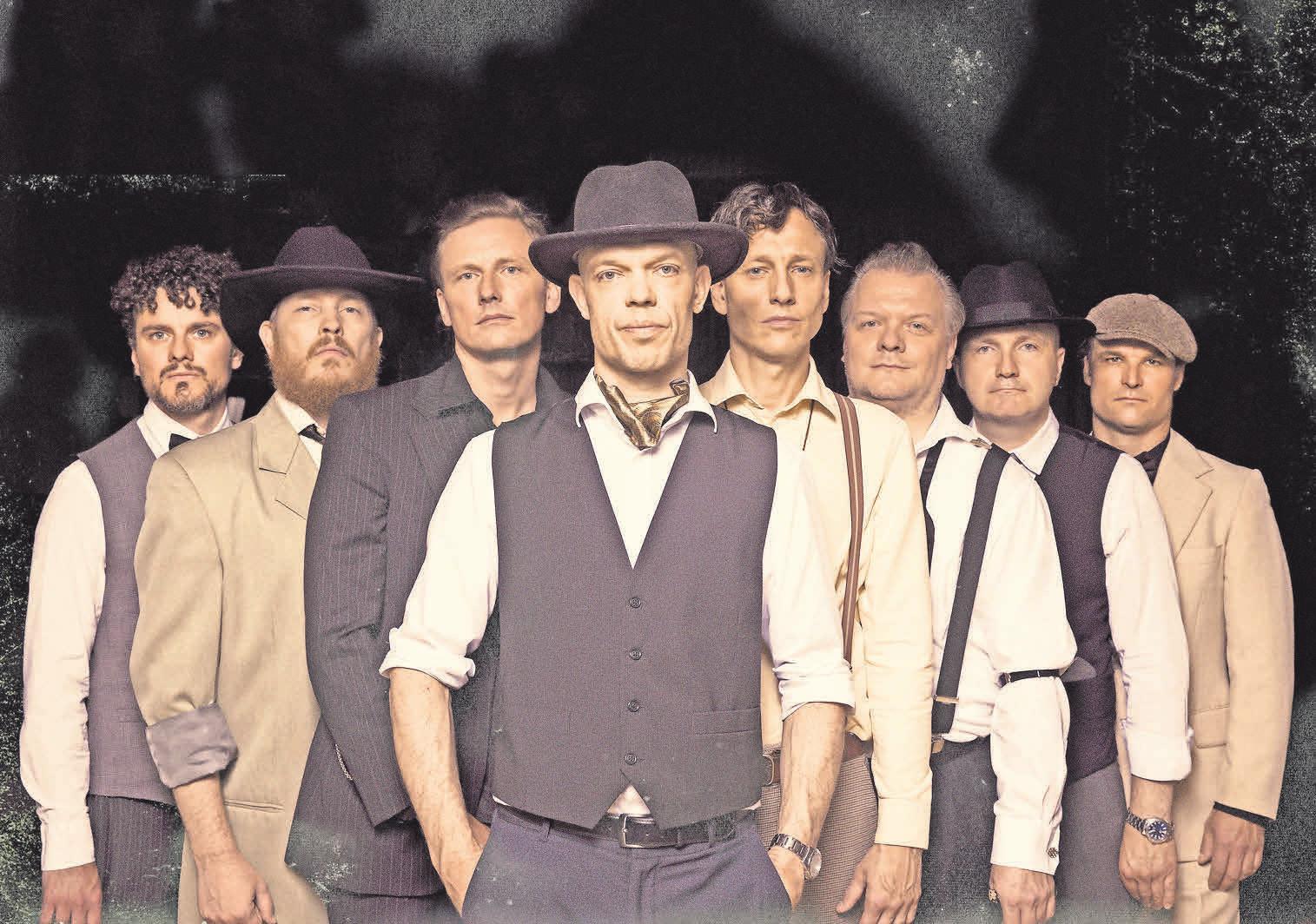 Thorbjørn Risager und seine Band kommt aus Dänemark zum Bluesfestival am Rodelberch. Foto: Søren Rønholt