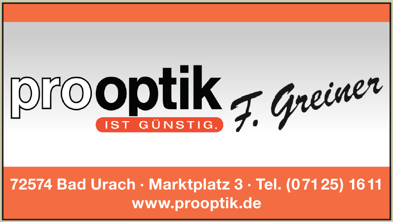 Pro Optik F. Greiner