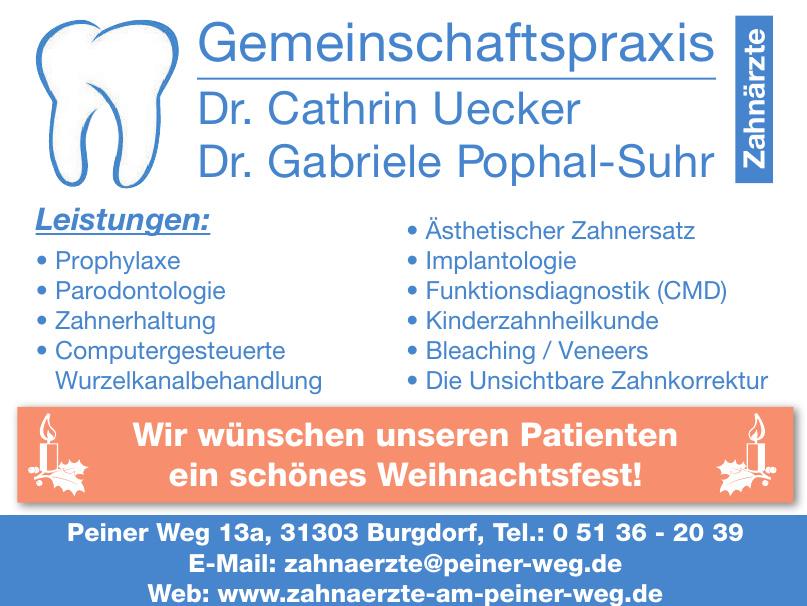 Gemeinschaftspraxis Dr. Cathrin Uecker, Dr. Gabriele Pophal-Suhr