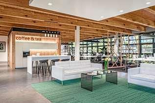 Nachhaltigkeit von Anfang an: moderne Büroflächen in Niedrigenergie-Bauweise am Hegauer Weg in Zehlendorf. FOTO: IGP PROJEKT GMBH