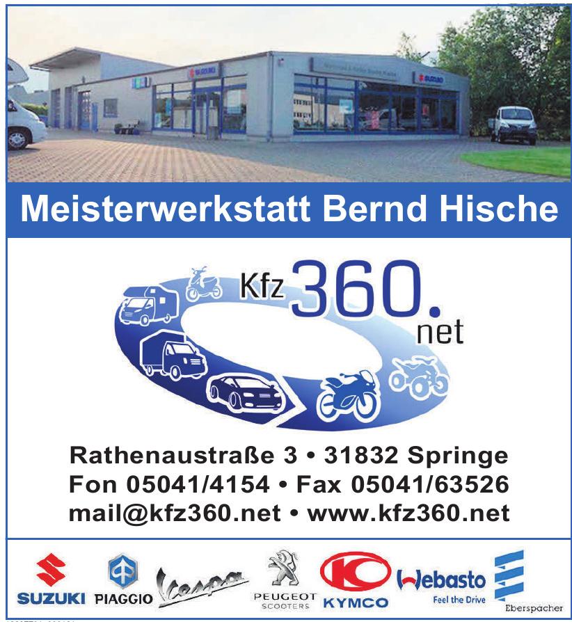 Meisterwerkstatt Bernd Hische