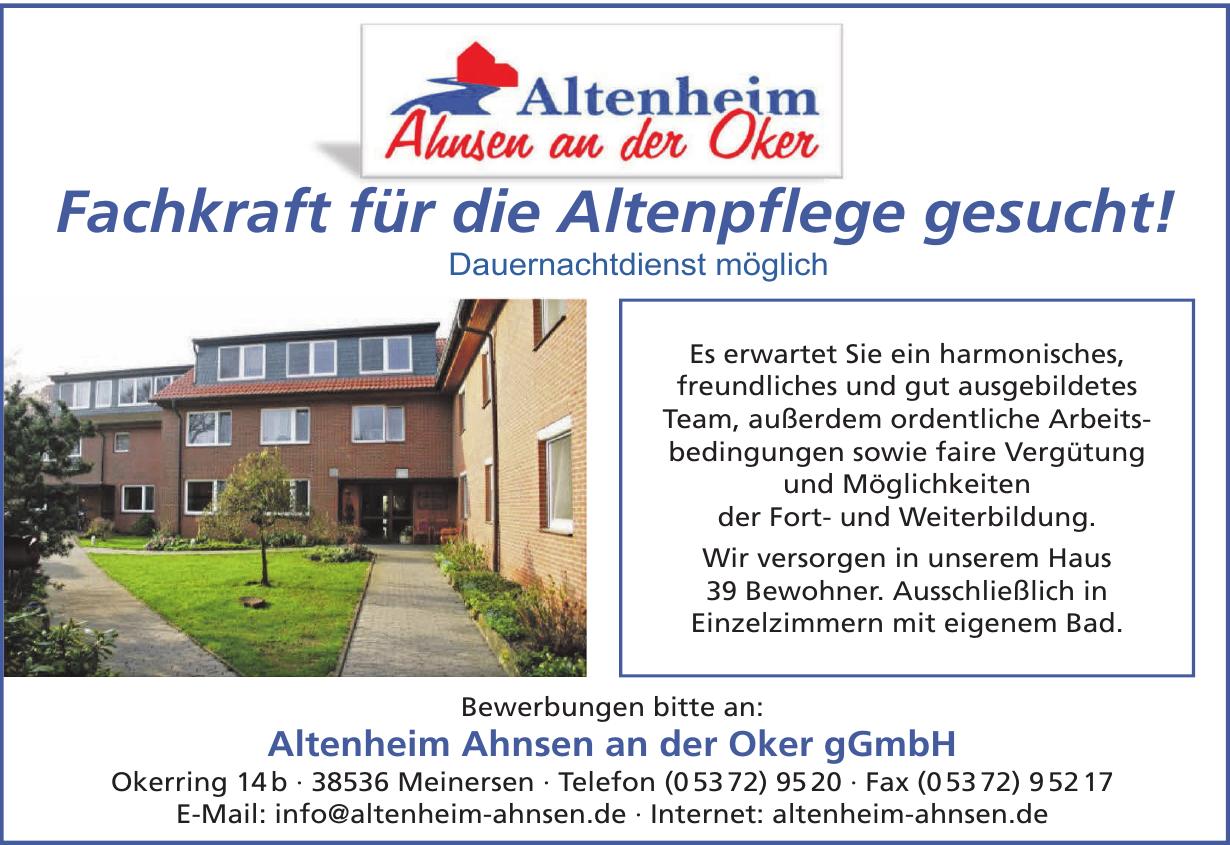 Altenheim Ahnsen an der Oker gGmbH