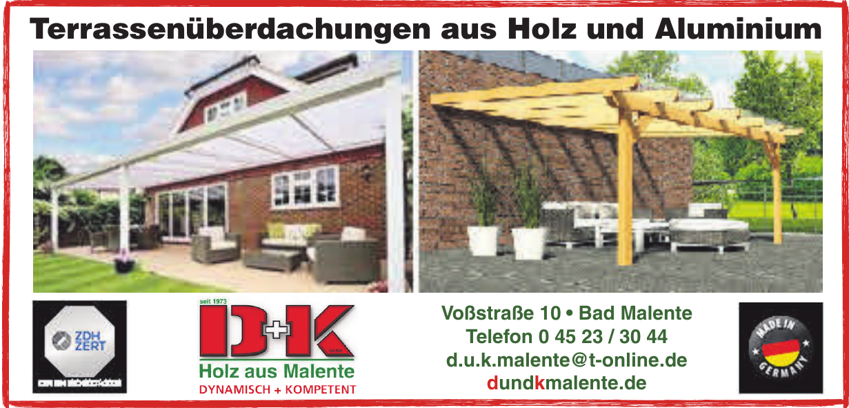 D+K GmbH Holz aus Malente