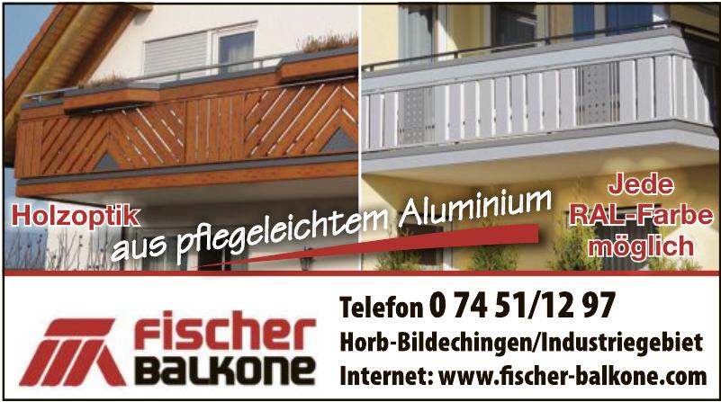 Fischer-Balkone