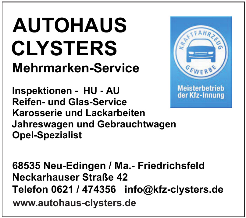 Autohaus Clysters