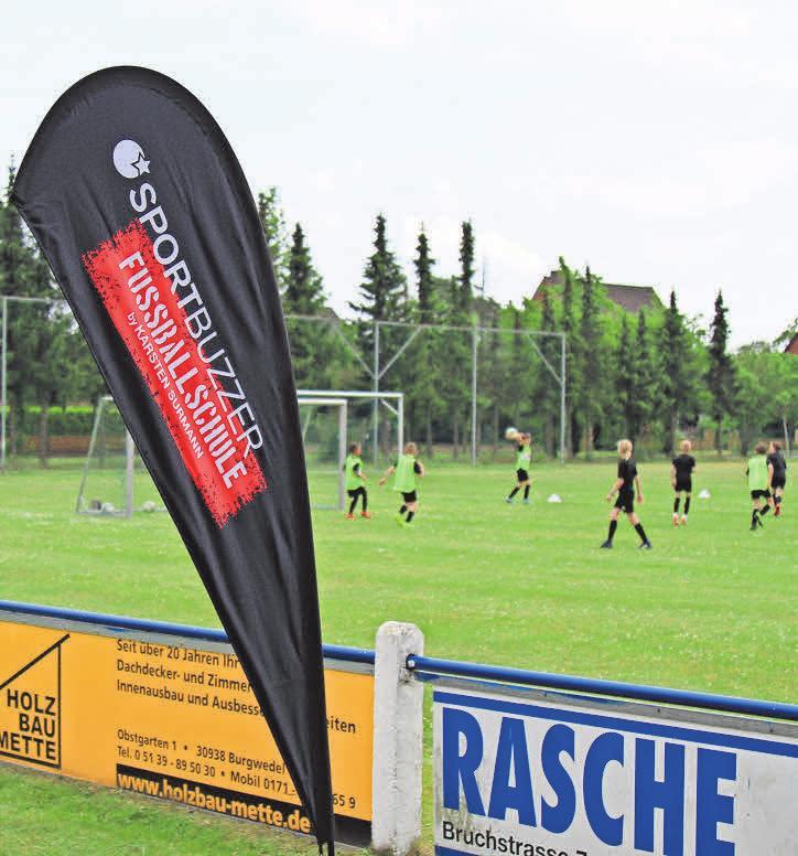 Zuletzt machte die Sportbuzzer-Fußballschule auf der Anlage des TSV Wettmar Station.