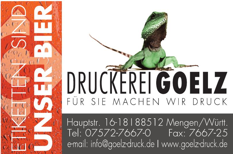 Druckerei Goelz