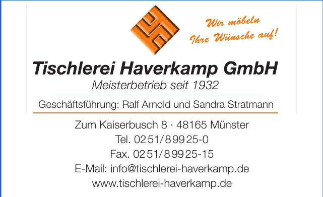 Tischlerei Haverkamp GmbH