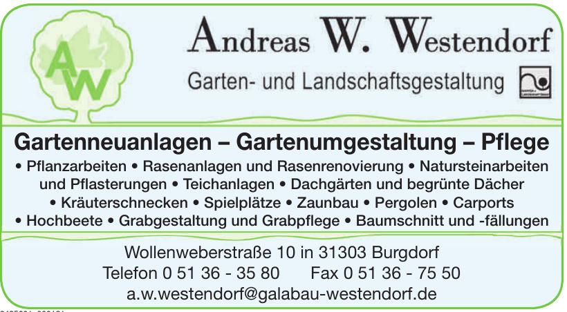 Andreas W. Westendorf Garten- und Landschaftsgestaltung