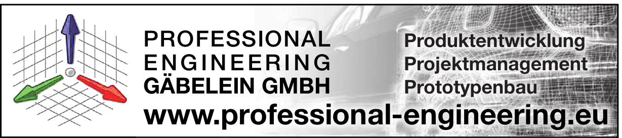 Professional Engineering Gäbelein GmbH