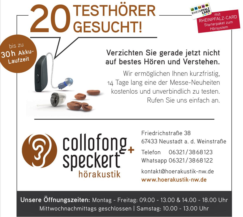 Hörakustik Collofong + Speckert