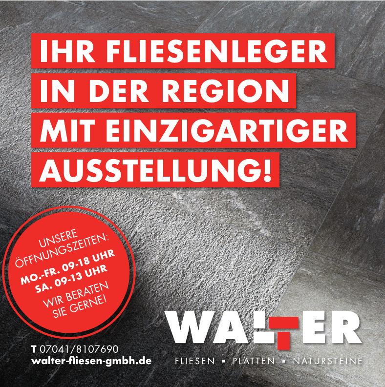 Walter Fliesen und Natursteine GmbH
