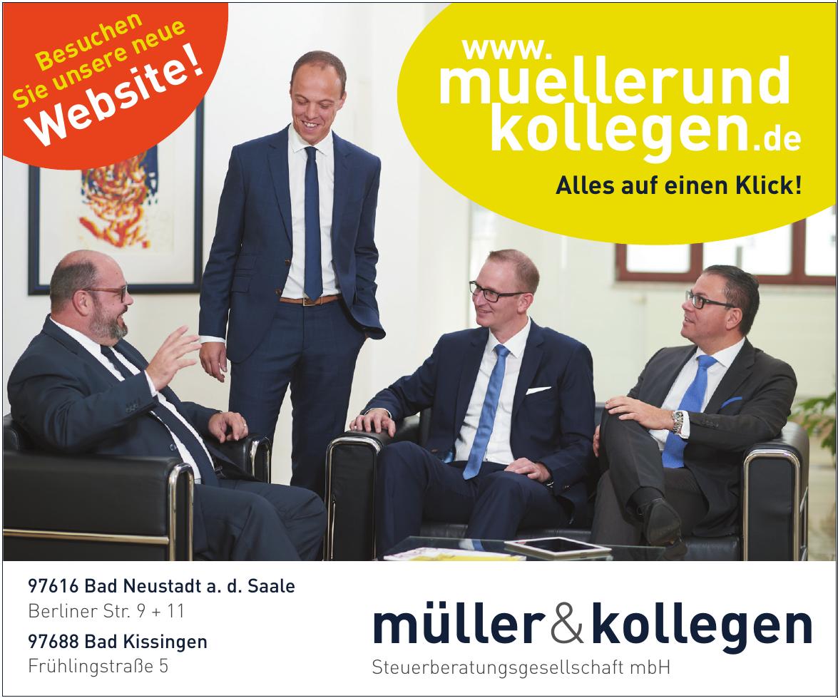 müller & kollegen Steuerberatungsgesellschaft mbH
