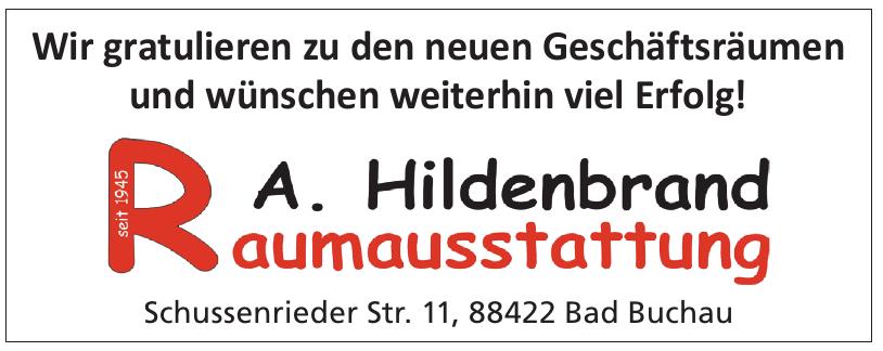 A. Hildenbrand Raumaustattung