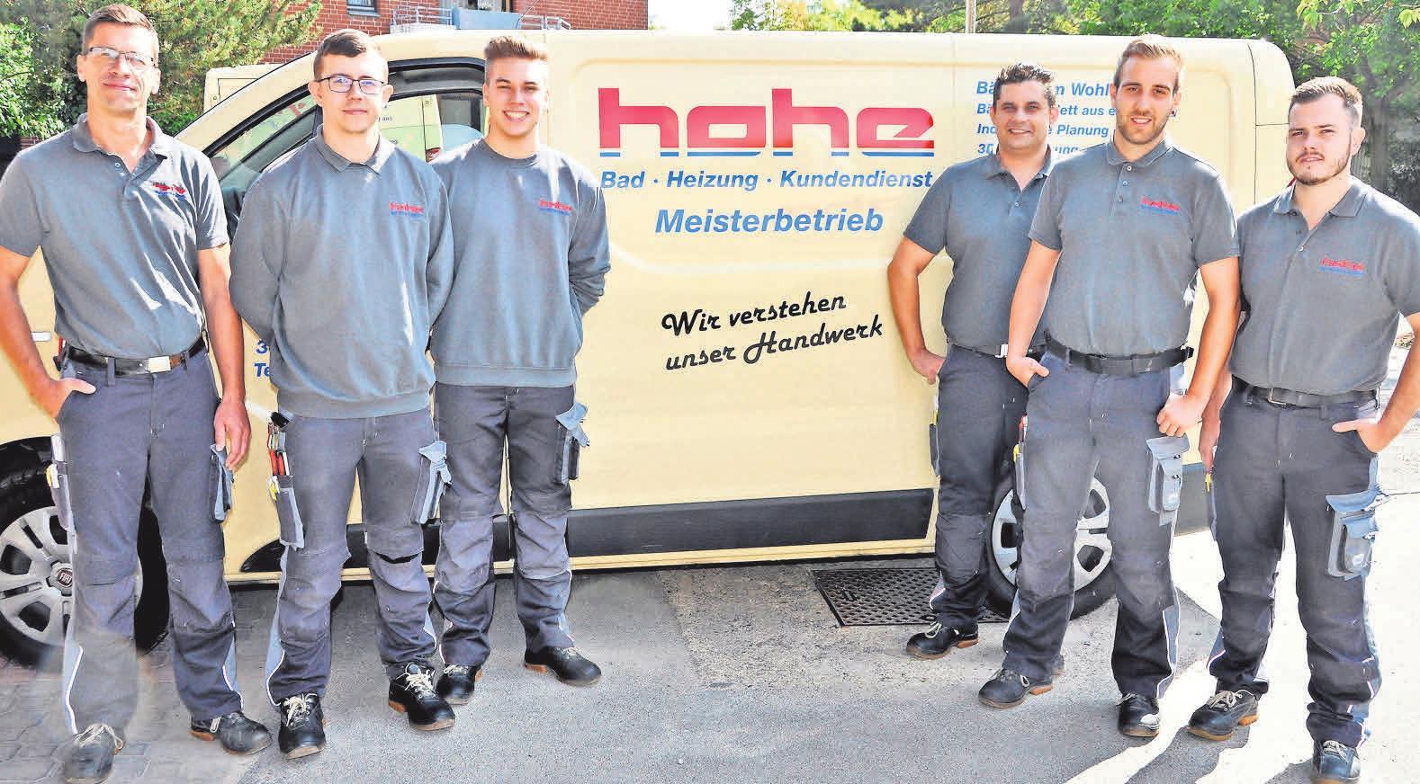 Das Team von Dieter Hohe, Fachmann für barrierefreie Bäder, ist sehr gut ausgebildet und kompetent.