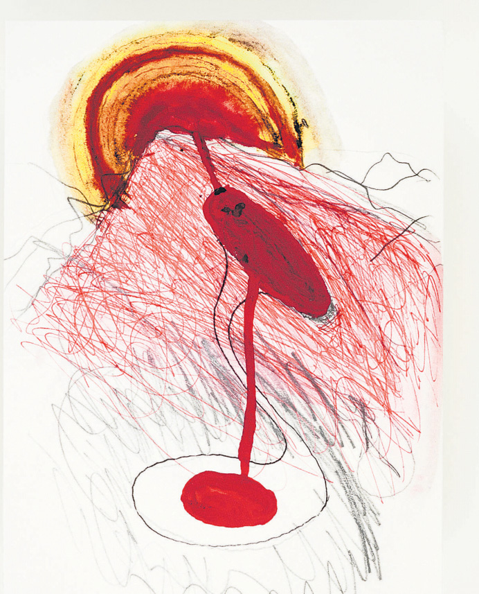 "Anish Kapoor, ""Red Beginning"" (2012–2020)©Anish Kapoor, VG Bild-Kunst, Bonn 2020"