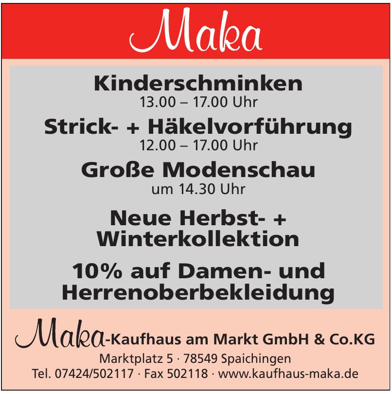 Maka-Kaufhaus am Markt GmbH & Co.KG