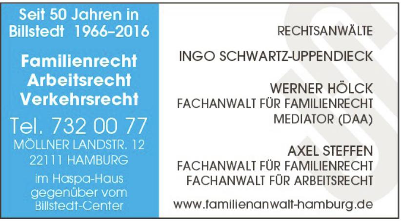 Rechtsanwälte Schwartz-Uppendieck Hölck & Steffen
