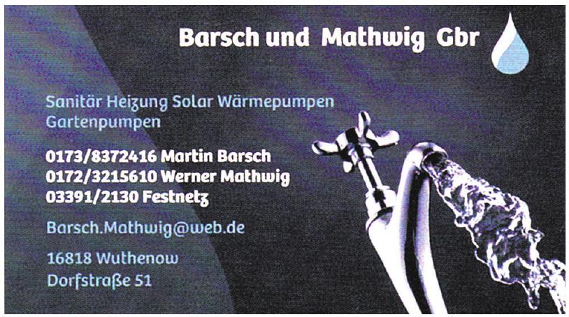 Barsch und Mathwig Gbr