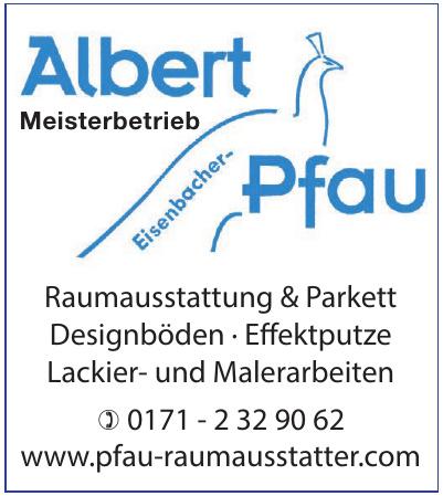 Albert Eisenbacher-Pfau
