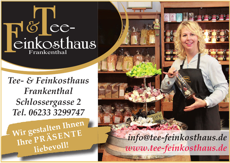 Tee Feinkosthaus Frankenthal