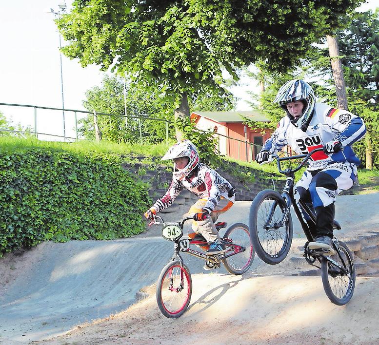 Bringt jungen Nachwuchs in den RV Dudenhofen: die BMX-Abteilung. ARCHIVFOTO: LENZ