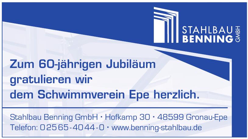 Stahlbau Benning GmbH