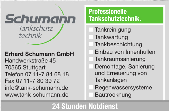 Erhard Schumann GmbH Tankschutz Technik