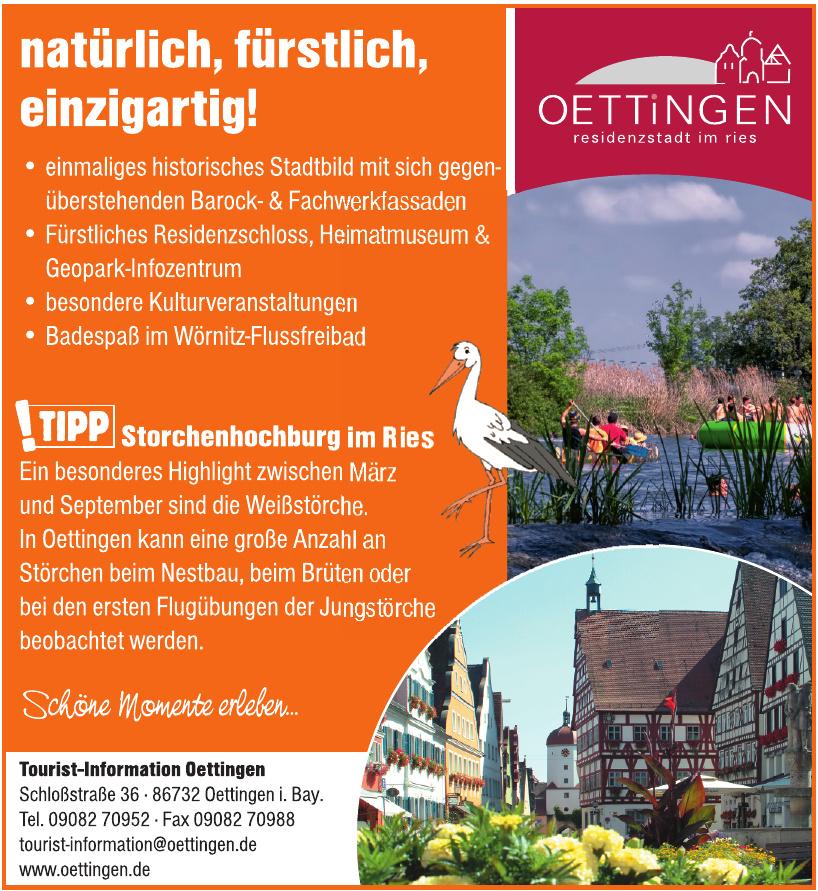 Tourist-Information Oettingen