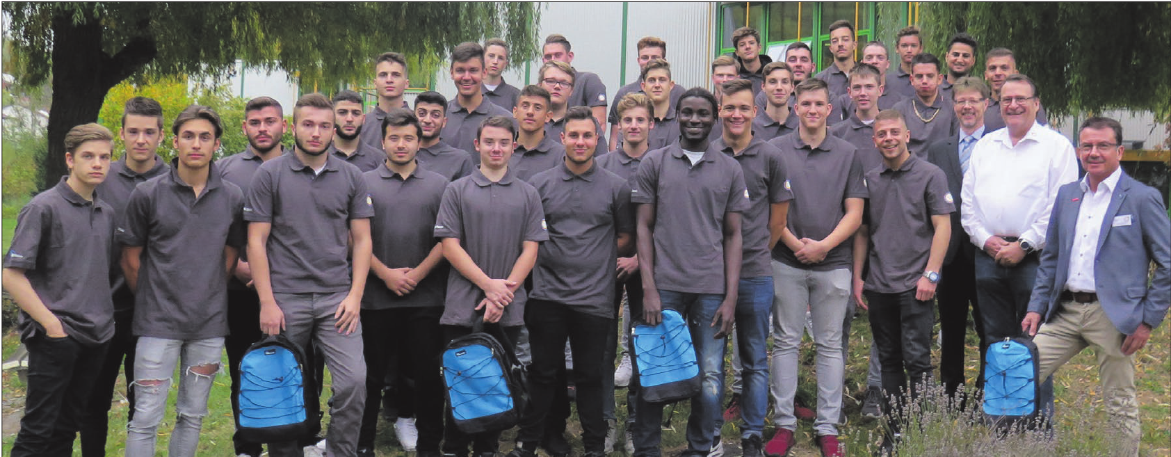 Die Innung hat gemeinsam mit der Gewerblichen Schule in Geislingen die neuen Berufsfachschüler begrüßt. Foto: Innung