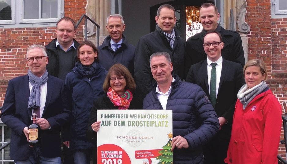 Das 7. Pinneberger Weihnachtsdorf bietet ein vielfältiges Programm und ist zur Freude von Organisatoren und Sponsoren noch einmal größer geworden Fotos: Skibbe