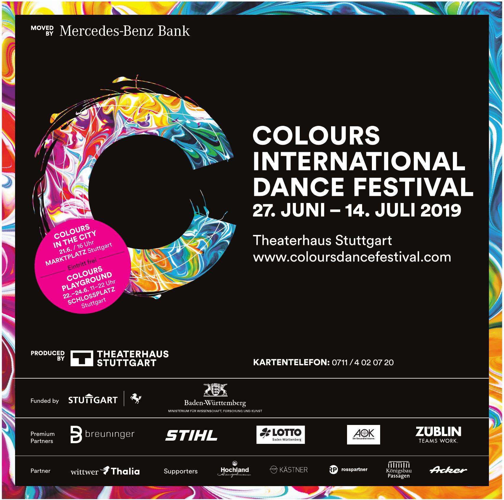 Colours International Dance Festival