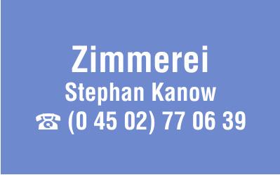 Zimmerei Stephan Kanow