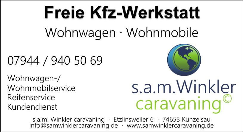 s.a.m. Winkler caravaning