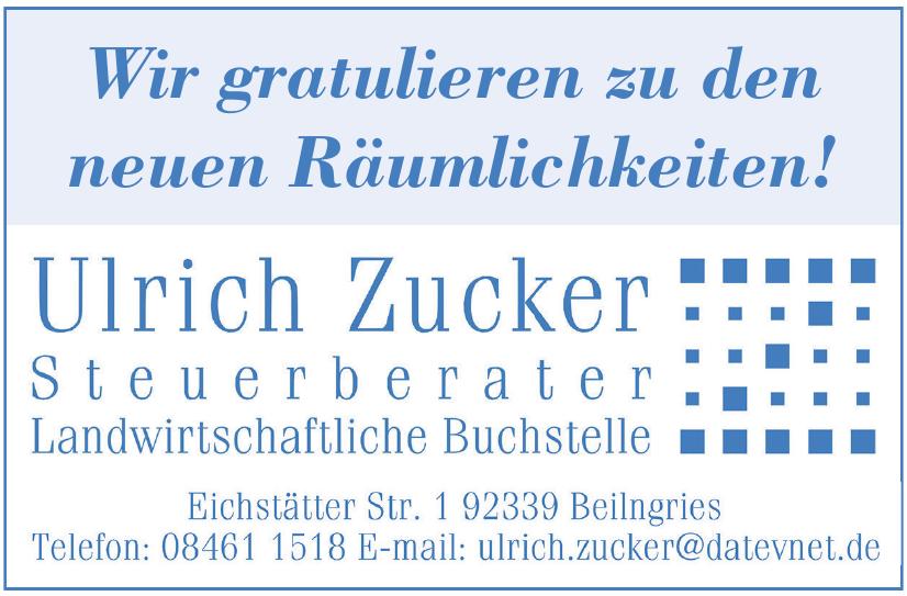 Ulrich Zucker Steuerberater