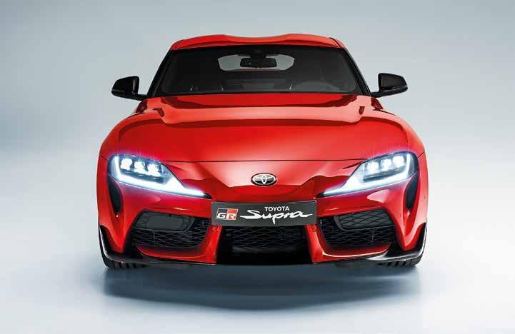 Startbereit Die fünfte Generation des Toyota GR Supra steht am Genfer Automobil-Salon.
