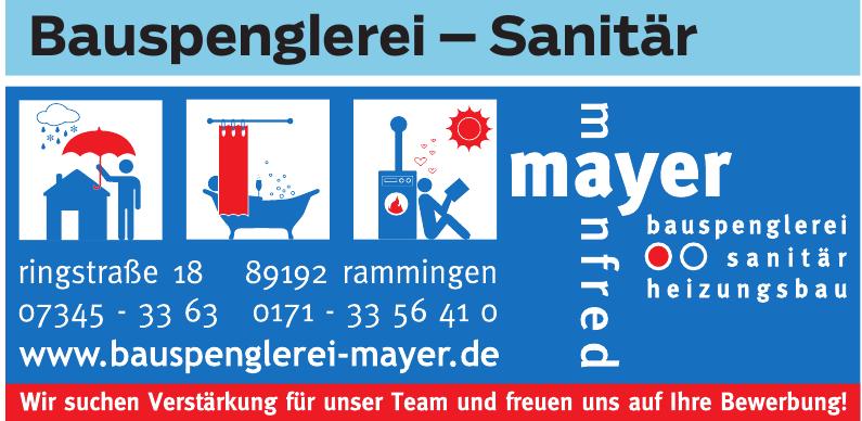 Bauspenglerei Mayer