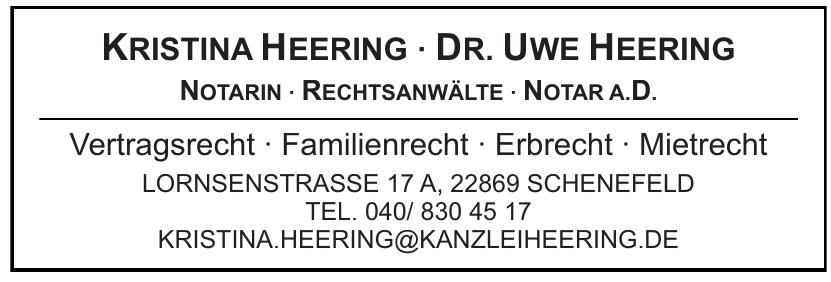 Kristina Heering - Dr. Uwe Heering