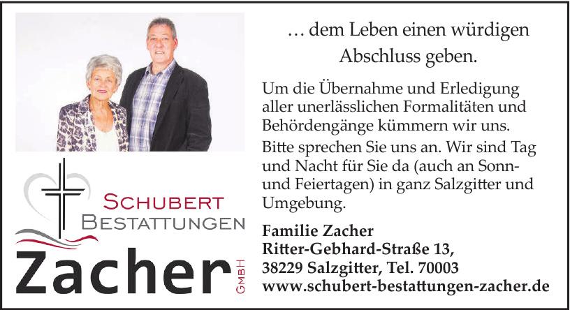 Schubert Bestattungen Zacher GmbH