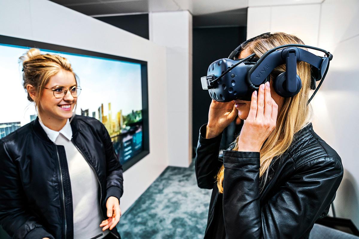 Virtual Reality Virtuelle Testfahrten zeigen, wie wir morgen unterwegs sind.