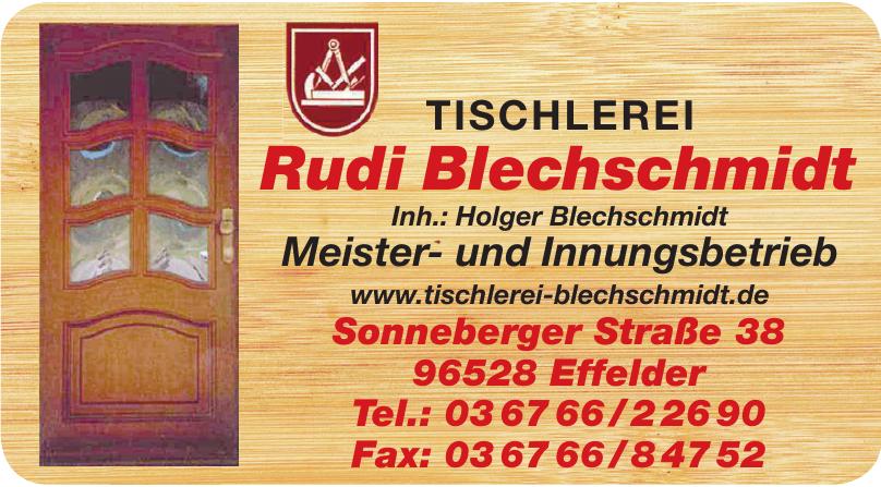 Tischlerei Rudi Blechschmidt
