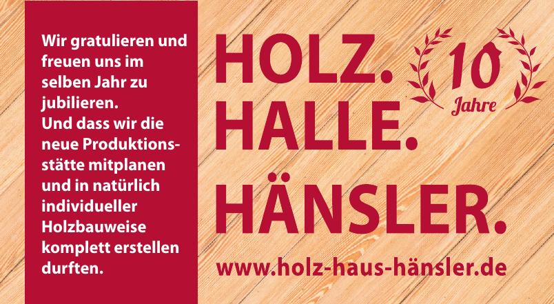 Holz Haus Hänsler