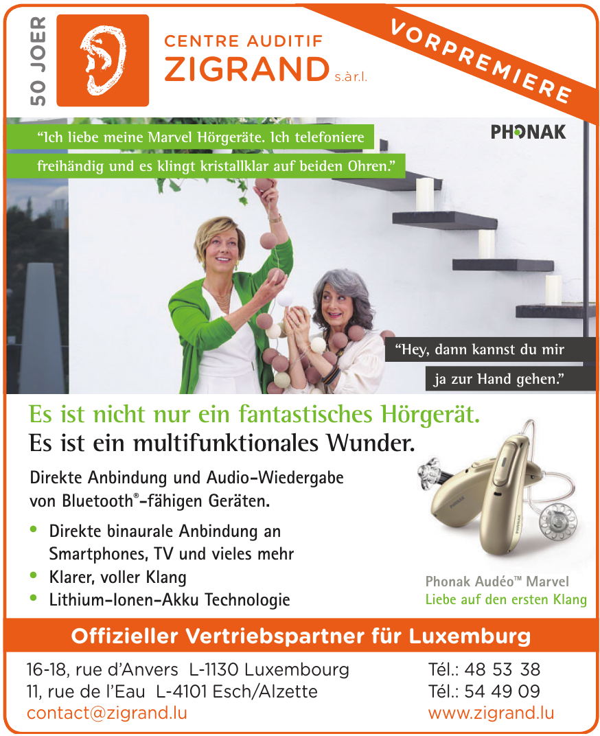 Centre Auditif Zigrand s.àr.l.