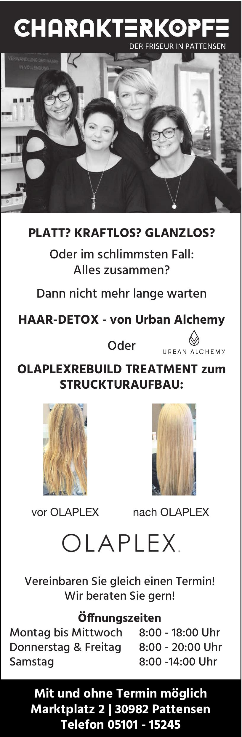 Charakterkopfe - Friseur in Pattensen