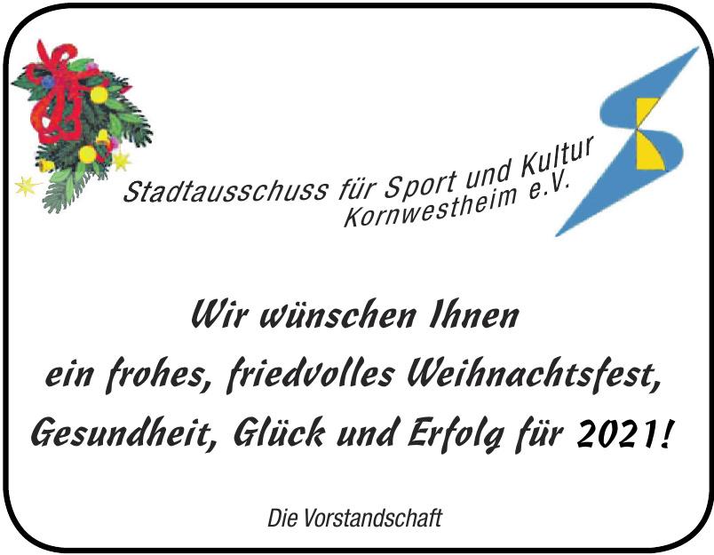 Stadtausschuss für Sport und Kultur Kornwestheim e.V.
